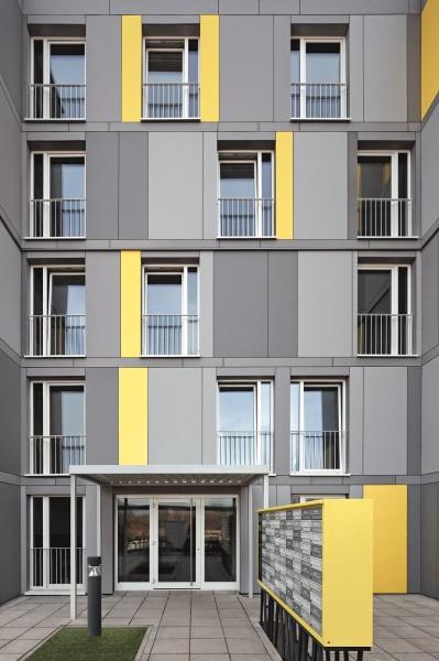 Internáty Heidelberg: Ponuka mníchovskej firmy LiWood AG dokázala zadávateľa presvedčiť modulárnym stavebným systémom s drevenou nosnou konštrukciou.