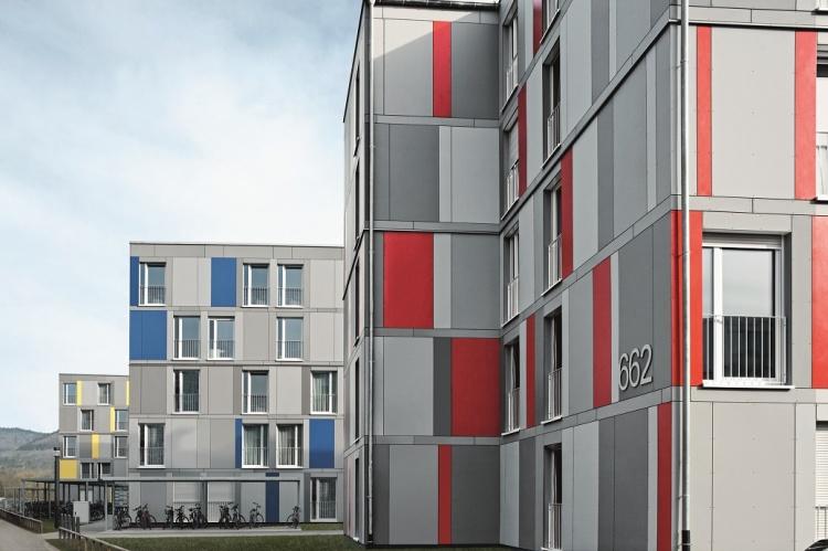 Študentský domov v Heidelbergu by si mnohí na prvý pohľad pomýlili s luxusným apartmánovým bývaním niekde v širšom centre Bratislavy.