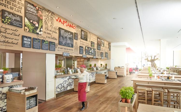 Sieť reštaurácií Vapiano Bencik