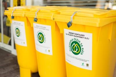 Slovnaft zbiera použitý kuchynský olej na 88 čerpacích staniciach v70 mestách aobciach na Slovensku.
