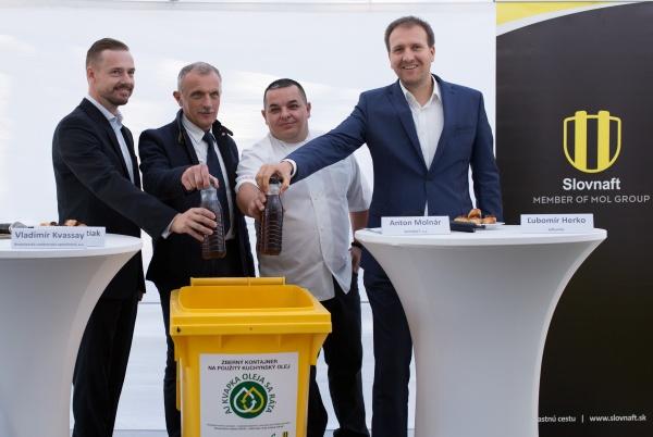 Partnerom ekologického projektu Aj kvapka oleja sa ráta je spoločnosť Meroco, ktorá olej spracuje a následne z neho vyrobí biopalivovú zložku do motorovej nafty.