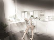 Známa poľská fotografka Lidia Popiel fotograficky stvárnila hrozbu otravy CO. Kolekciu fotografií venovala kampani na tému Carbon Monoxide Houses, Honeywell.