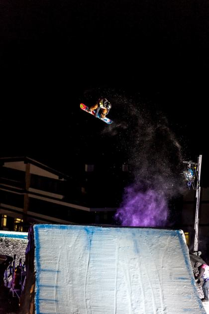 Big Air v rámci Sony Xperia Snowboard Fest 2016 je zaradený do prestížnej série World Snowboard Tour.