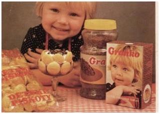 Názov Granko vznikol vo verejnej súťaži, ktorá bola vyhlásená vedením Čokoládovní Kolín, kde sa kakao začiatkom roku 1978 vyrábalo.