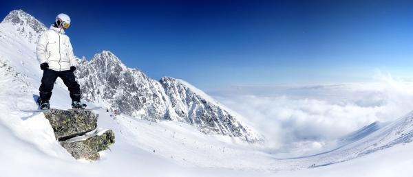 Lomnické sedlo hlási štart sezóny aj pre snowboarding vrátane freeridingu