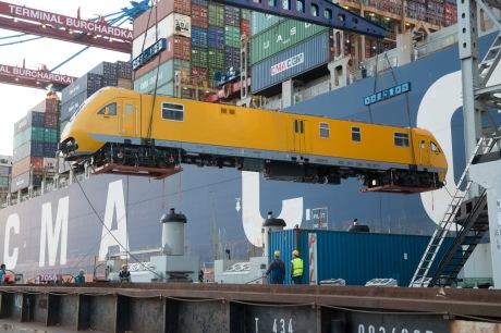 Dachser realizoval prepravu lokomotívy z čínskeho Pekingu do stredočeskej Velimi.