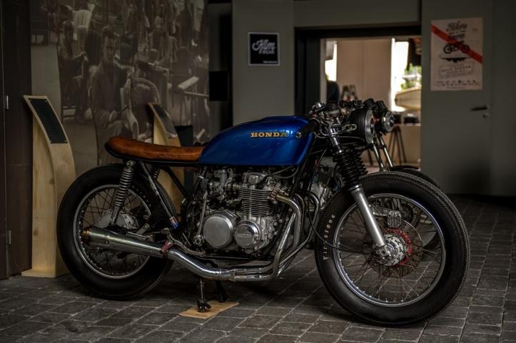 Už druhý rok je Bikes in Town výstavou motoriek štýlu café racer, scrambler, tracker, classic acustom.