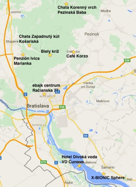 Dnes tvorí Sieť nabíjacích staníc sedem reštauračných, občerstvovacích, bufetových zariadení v Malých Karpatoch a v Podunajskej nížine.