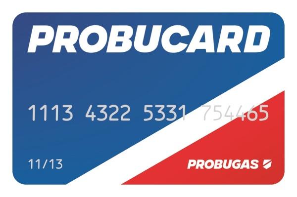 Karta Probucard zabezpečuje, formou poskytnutia bezúročnej pôžičky, záujemcom doplnenie ich áut na LPG pohon.