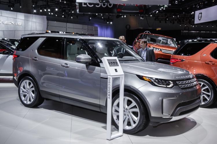 Nový Land Rover Discovery z Nitry