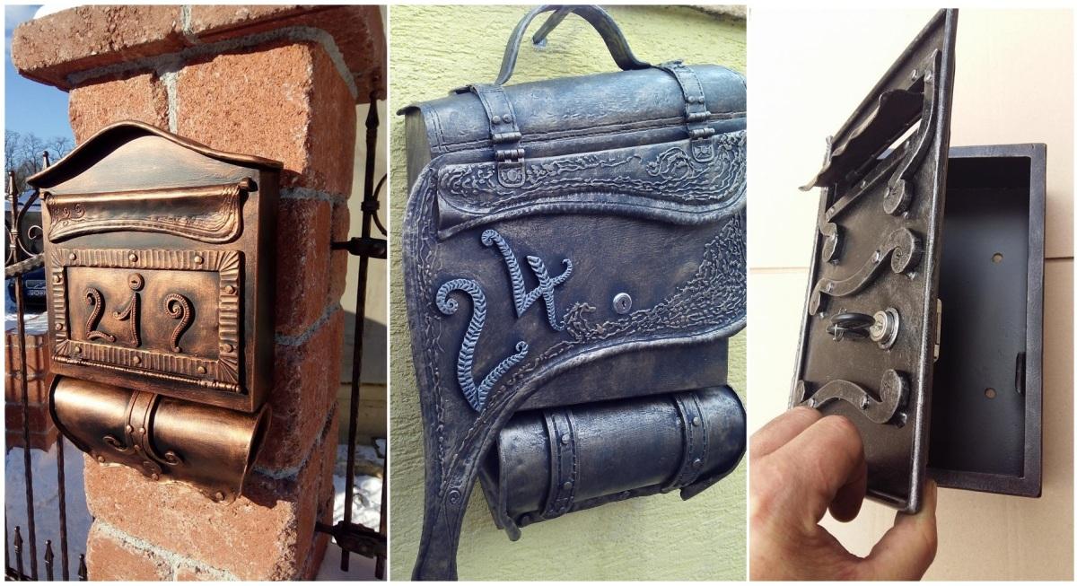 Novým hitom sú ručne kované poštové schránky v tvare tašiek (FOTO)