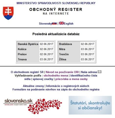 Ministerstvo spravodlivosti avizuje rýchlejší a kvalitnejší obchodný register za 950 tisíceur