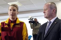 Olympijská víťazka zo ZOH 2014 v Soči Anastasia Kuzminová štartuje hneď v prvý súťažný deň olympiády.