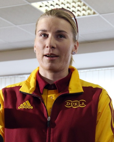 Olympijská víťazka zo ZOH 2014 v Soči Anastasia Kuzminová.