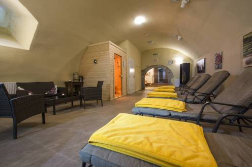 Hostia si môžu užívať vo Wellness - Queen Barbara Spa, kde je im k dispozícii bazén s protiprúdom, vírivka, infrasauna, fínska sauna, ochladzovací bazén a rôzne masáže.