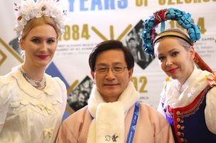 Olympiáda ponúka skvelú platformu pre prezentáciu kultúr jednotlivých zúčastnených národov.