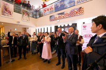 Na akcii sa zúčastnil aj prezident SR Andrej Kiska a prezident SOV Anton Siekel.