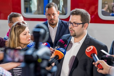 Filip Hlubocký, predseda predstavenstva a generálny riaditeľ ZSSK.