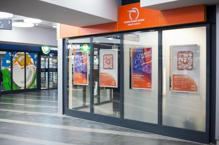 Zákaznícke centrum ZSSK Trnavské mýto Bratislava